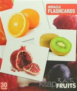Miracle Flashcards - Fruits