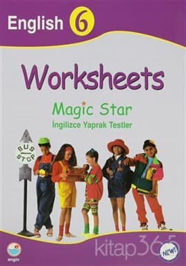 Worksheets Magic Star İngilizce Yaprak Testler English 6